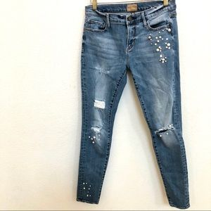 Driftwood Beau Pearls Classic Fit Distressed  26